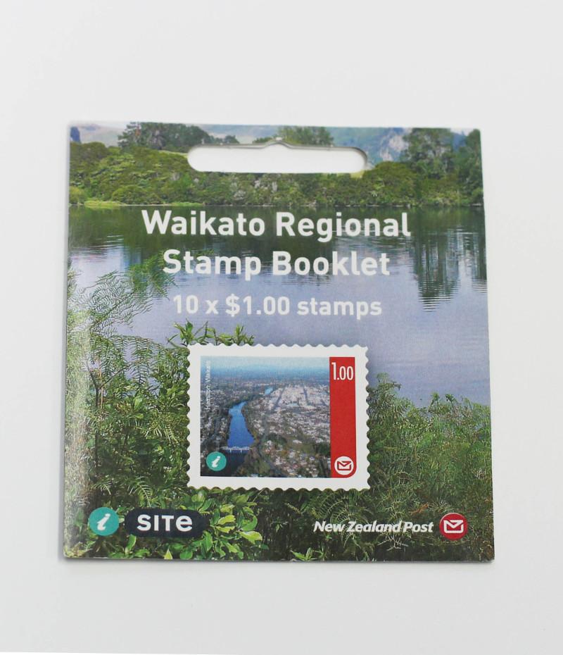 Waikato Regional stamp booklet