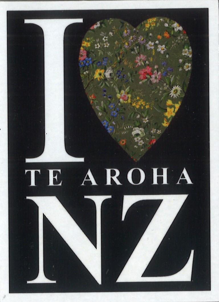 I Love Te Aroha Magnet