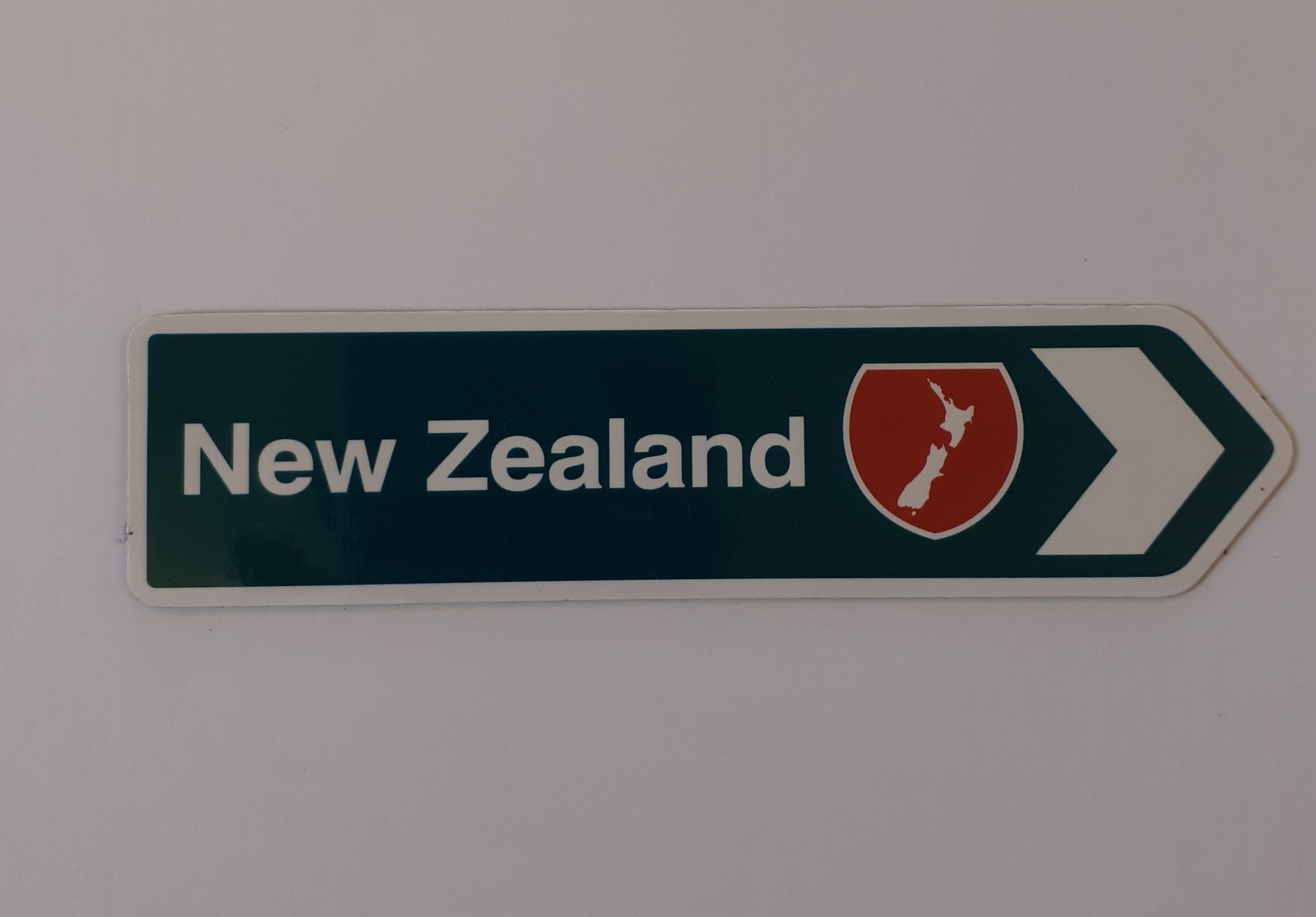 Fridge magnet - New Zealand Green